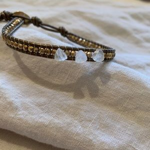 NEW Chan Luu Single Wrap Bracelet Gold